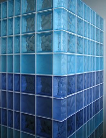 steklobloki remont stroitelstvo Стены из стеклоблока Фото